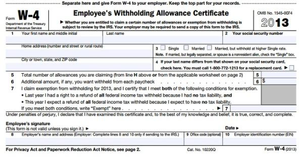 Form W4 how to get a refund next year – W 4 Form Worksheet